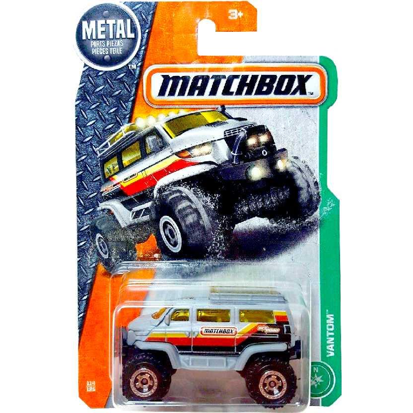 Coleção 2017 Matchbox Vantom series 114/125 DVL15 escala 1/64