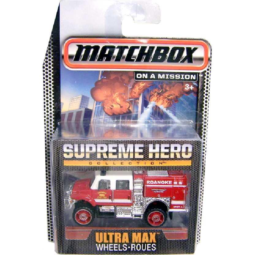 Coleção Bombeiros Matchbox Supreme Hero International WorkStar CGG06 escala 1/64