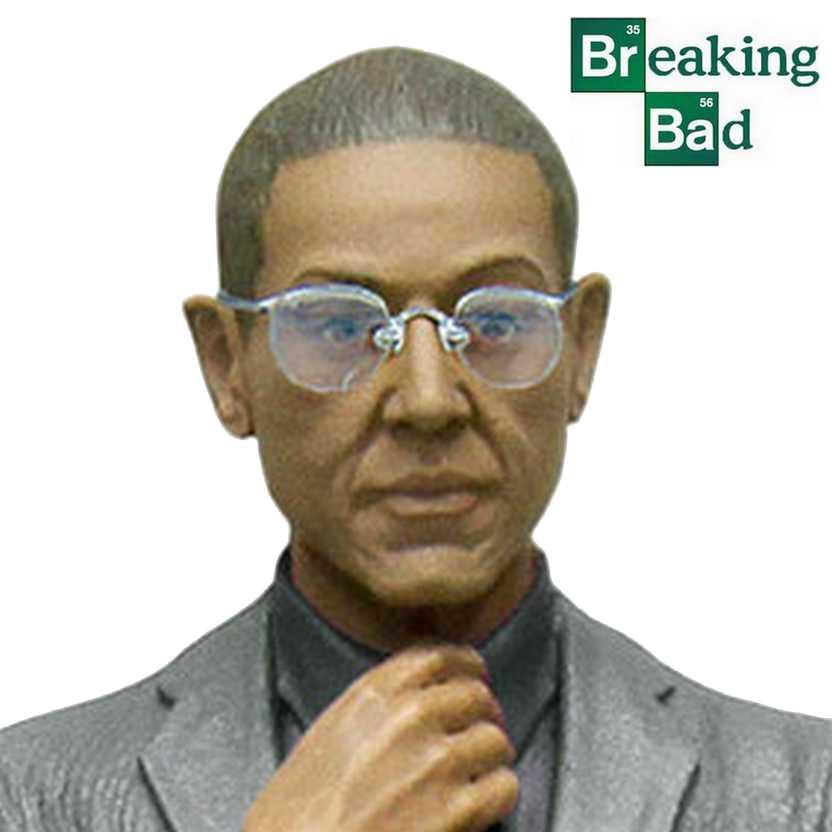 Coleção Breaking Bad - Gus Fring - Gustavo Fring Mezco Actio Figure
