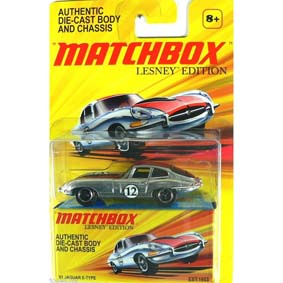 Coleção Carrinho Matchbox 2010 Lesney Edition Jaguar E-Type (1961) escala 1/64
