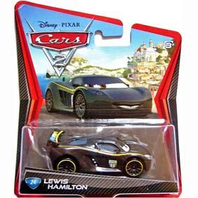 Coleção Carrinhos Carros 2 Cars II Lewis Hamilton #24