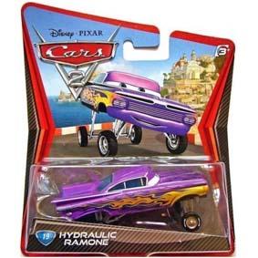 Coleção Carros 2 Filme Disney Hydraulic Ramone lançamento Cars II 2011