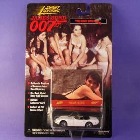 Coleção Carros do James Bond - Toyota 2000 Com 007 só se Vive Duas Vezes