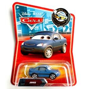 Coleção Cars Disney Hot Wheels (Carrinhos do Filme Carros) Jamie #146