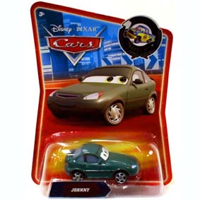 Coleção Cars Disney Hot Wheels (Carrinhos do Filme Carros) Johnny #145