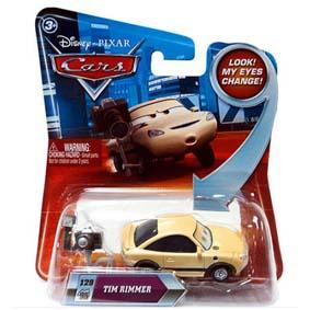 Coleção Cars Disney Hot Wheels (Carrinhos do Filme Carros) Tim Rimmer 129/95