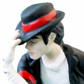 Coleção de Bonecos Michael Jackson comprar modelo Black or White
