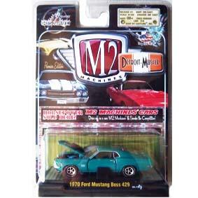 Coleção de Carrinhos de Ferro M2 Detroit Ford Mustang Boss 429 (1970) R5 31600