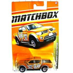 Coleção de Carrinhos Matchbox :: Mitsubishi L200 / Triton T8977