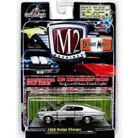Coleção de Carrinhos Miniaturas M2 1/64 Detroit-Muscle Dodge Charger (1966) R5 31600