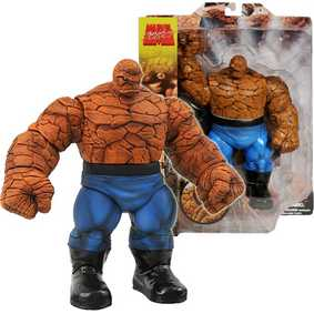Coleção de Miniaturas da Marvel Select O Coisa The Thing Action Figures 2010