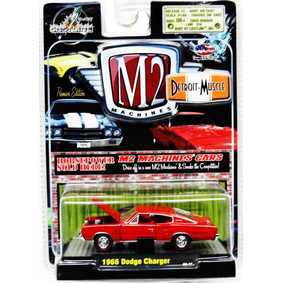 Coleção de Miniaturas de Carros M2 Dodge Charger (1966) 1/64 R5 31600