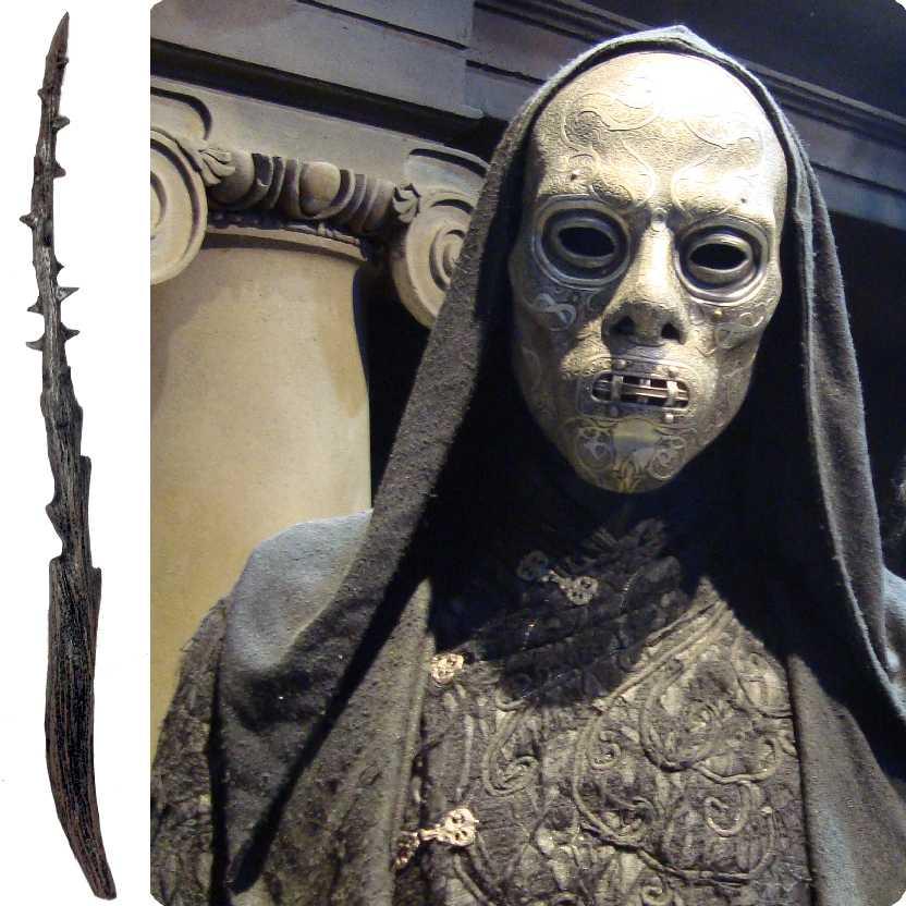 Coleção de Varinha Harry Potter: varinha do Comensal da Morte (Death Eater)