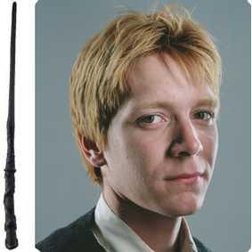 Coleção de Varinhas do filme Harry Potter - varinha do Fred Weasley