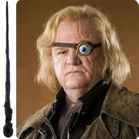 Coleção de varinhas do Harry Potter - varinha do professor Alastor Moody