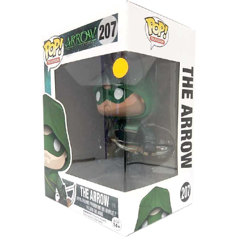 Coleção Funko POP! Arrow Oliver Queen (Arqueiro Verde) vinyl figure número 207 Novo