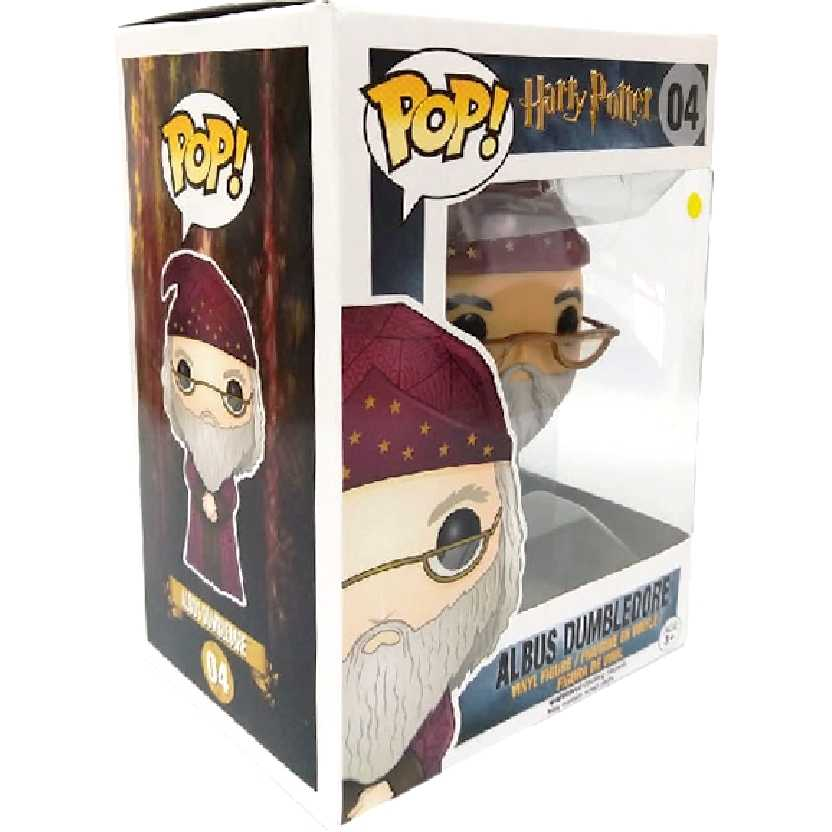 Coleção Funko POP! Harry Potter Albus Dumbledore vinyl figure número 04 original