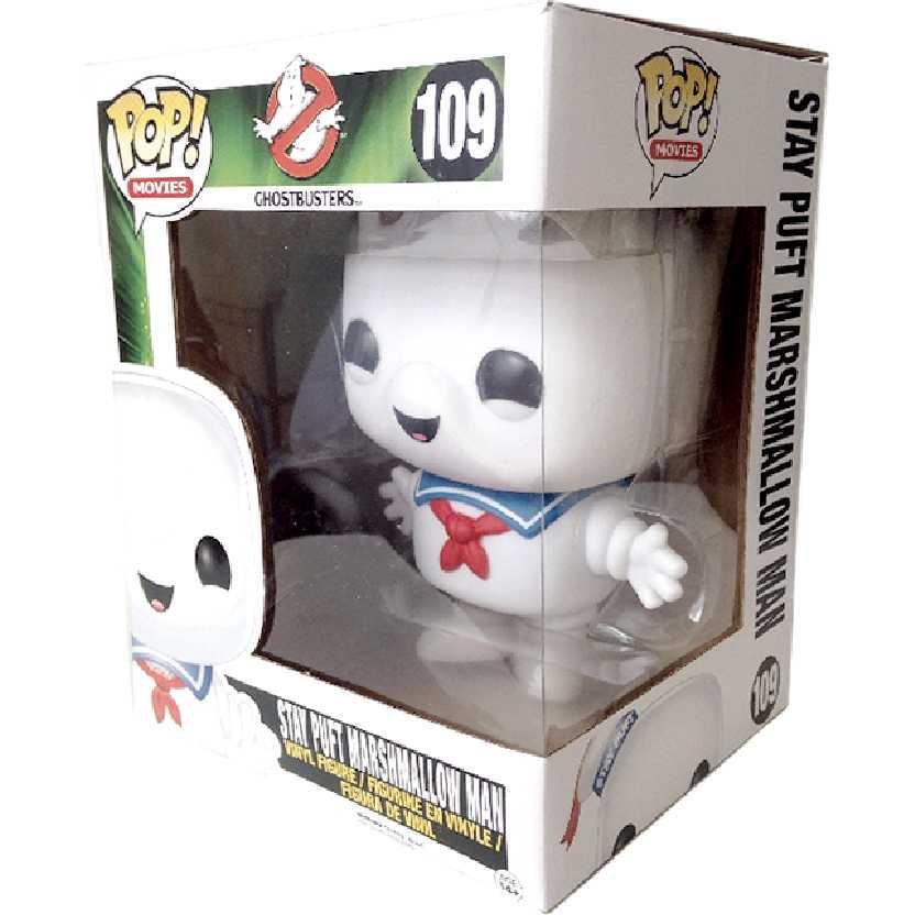 Coleção Funko Pop! Movies número 109 Ghostbusters Stay Puft Marshmallow Man Novo