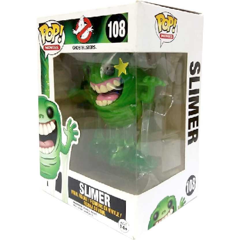Coleção Funko Pop! Movies - Slimer (Geléia) Ghostbusters número 108 Original