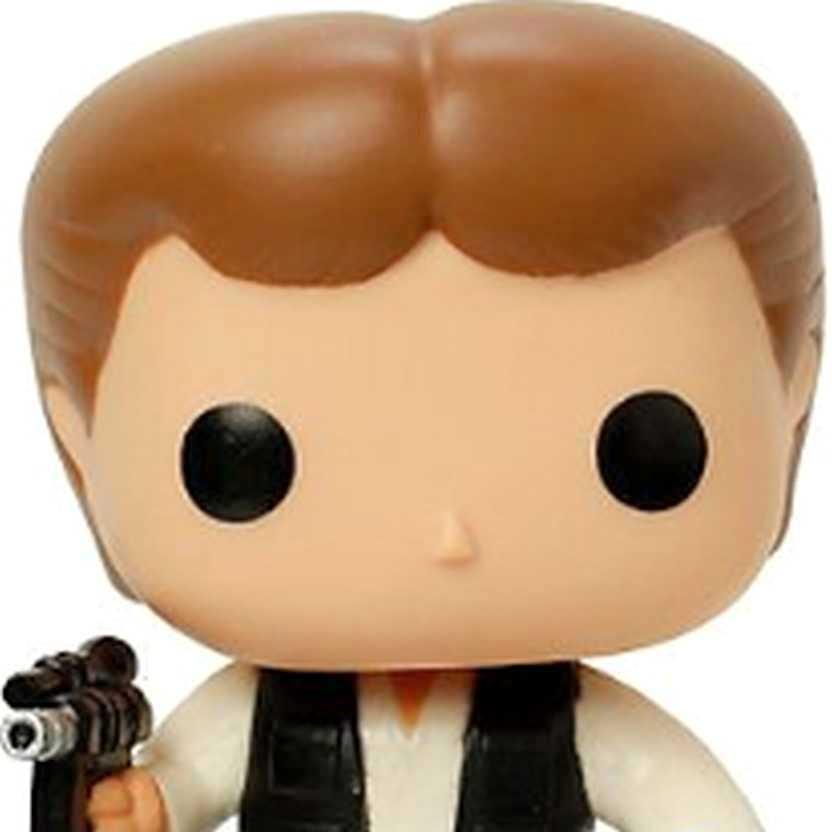 Coleção Funko Pop! Star Wars - Han Solo vinyl Bobble-Head figure número 03