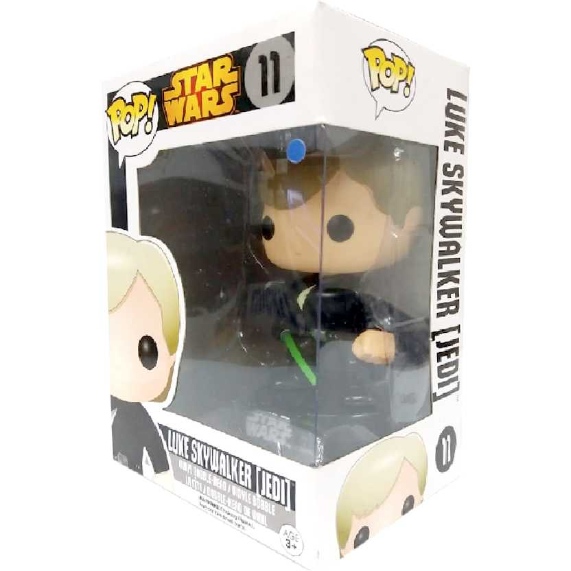 Coleção Funko Pop! Star Wars - Luke Skywalker Jedi Edition vinyl figure número 11 Original