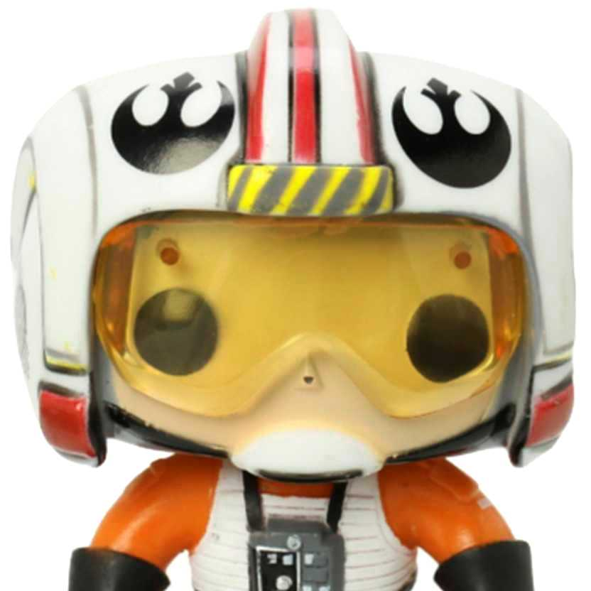 Coleção Funko Pop! Star Wars - Luke Skywalker X-Wing Pilot vinyl figure número 17