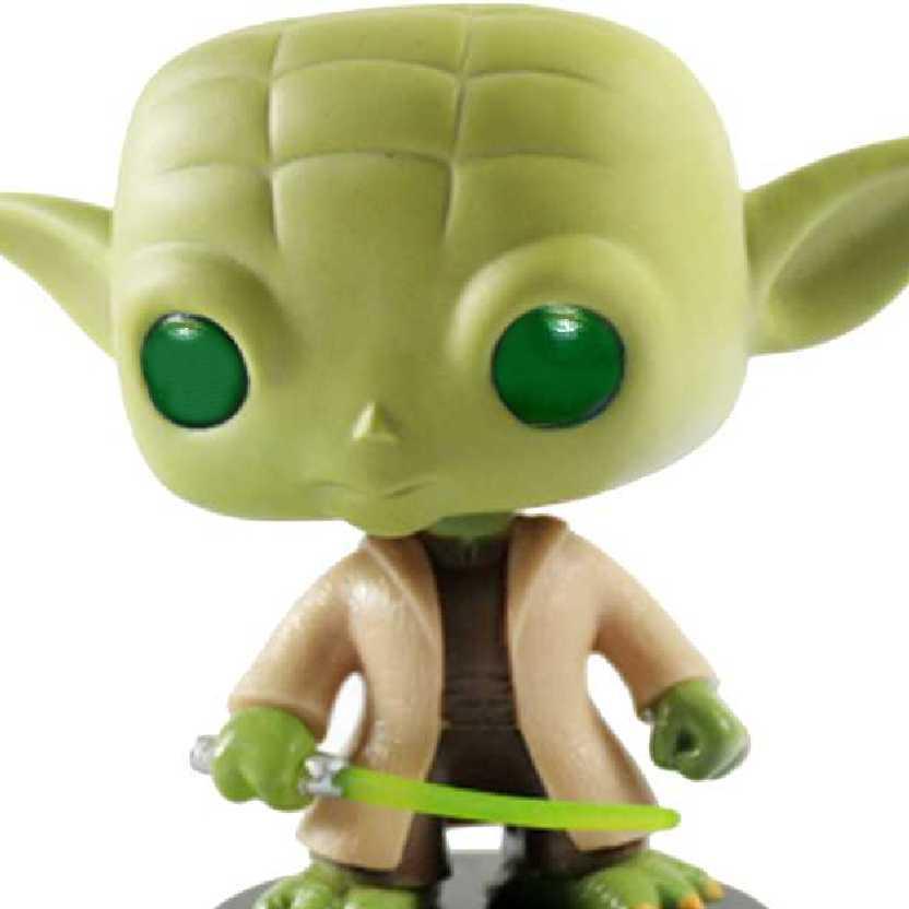 Coleção Funko Pop! Star Wars Yoda vinyl Bobble-Head número 02 Guerra nas Estrelas
