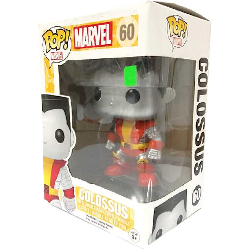Coleção Funko Pop! X-Men Classics Colossus Marvel Comics vinyl figure número 60
