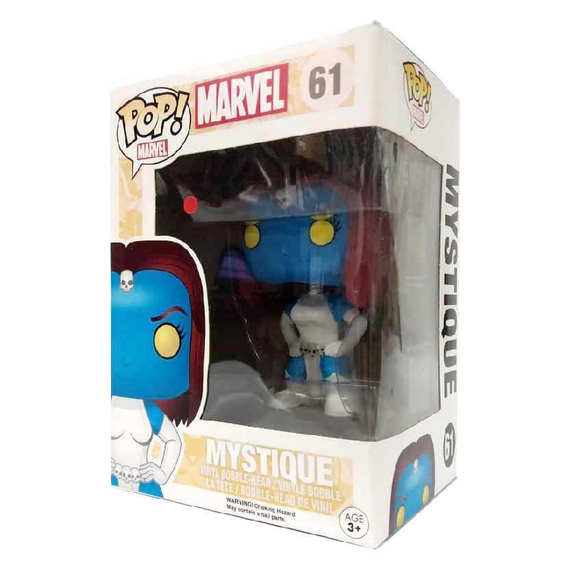 Coleção Funko Pop! X-Men Classics Mystique ( Mística ) Marvel Comics figure número 61 Vaulted