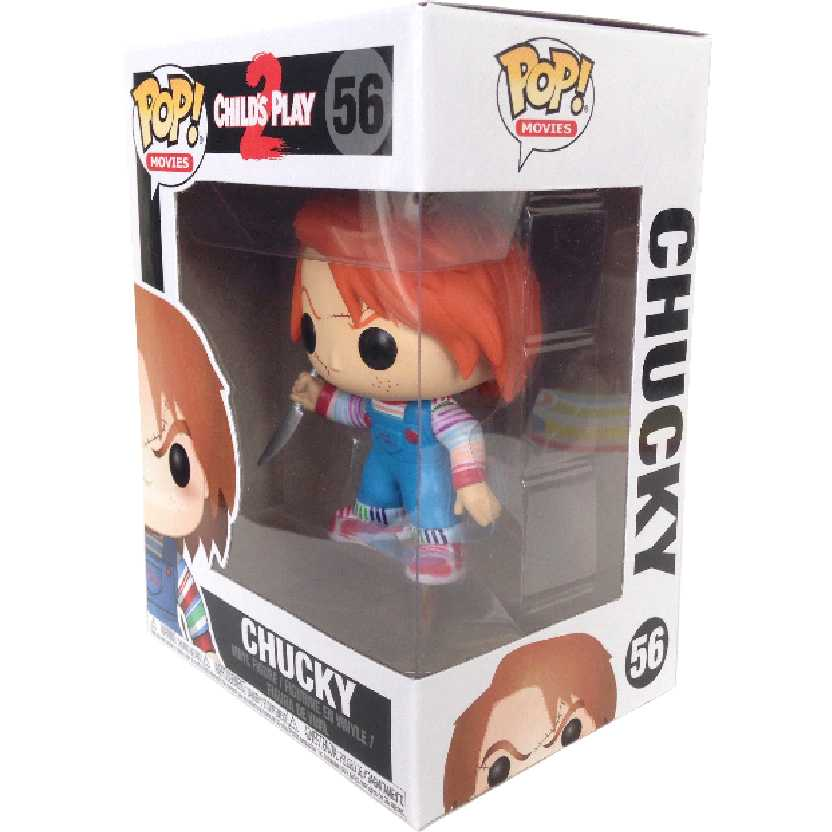 Coleção Funko POP Movies Chucky Brinquedo Assassino 2 Childs Play 2 número 56