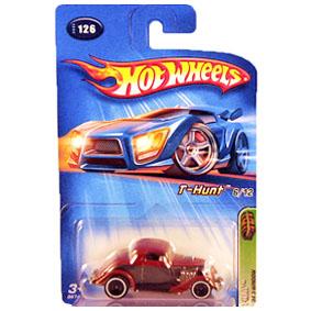 Coleção Hot Wheels 2005 34 3-Window T Hunt Series 126 (raridades HW) G6741