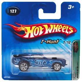 Coleção Hot Wheels 2005 Mustang Mach I 1 T-Hunt Series 127 G6742 Raridade