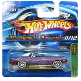 Coleção Hot Wheels 2005 Plymouth Barracuda (1970) T-Hunt Series 131 G6746