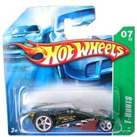 Coleção Hot Wheels 2007 Brutalistic Super T Hunt$ Series 127 (raridades HW) K7618S