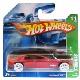Coleção Hot Wheels 2007 Cadillac V16 SUPER T Hunt$ Series 131 (raridades) K7622S