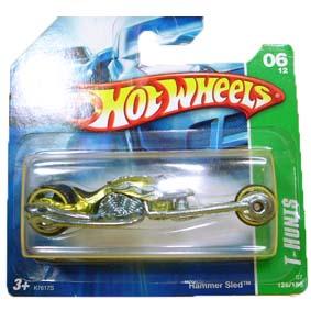 Coleção Hot Wheels 2007 Hammer Sled SUPER T Hunt$ Series 126 (raridades HW) K7617S