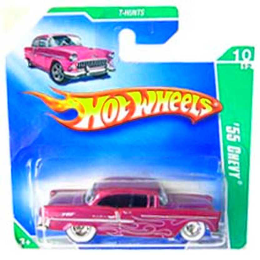 Coleção Hot Wheels 2009 55 Chevy Super T Hunt$ Series 052 (raridades Hw) P2372