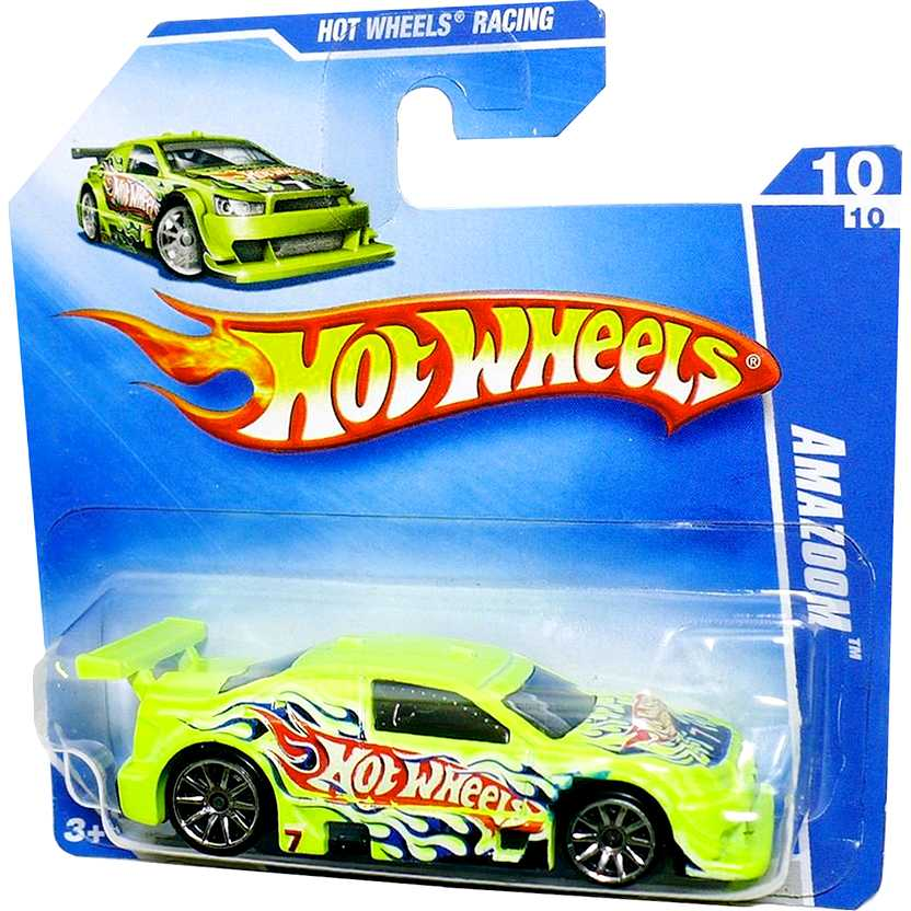 Coleção Hot Wheels 2009 Amazoom P2396 series 10/10 076/166 Stock Car escala 1/64