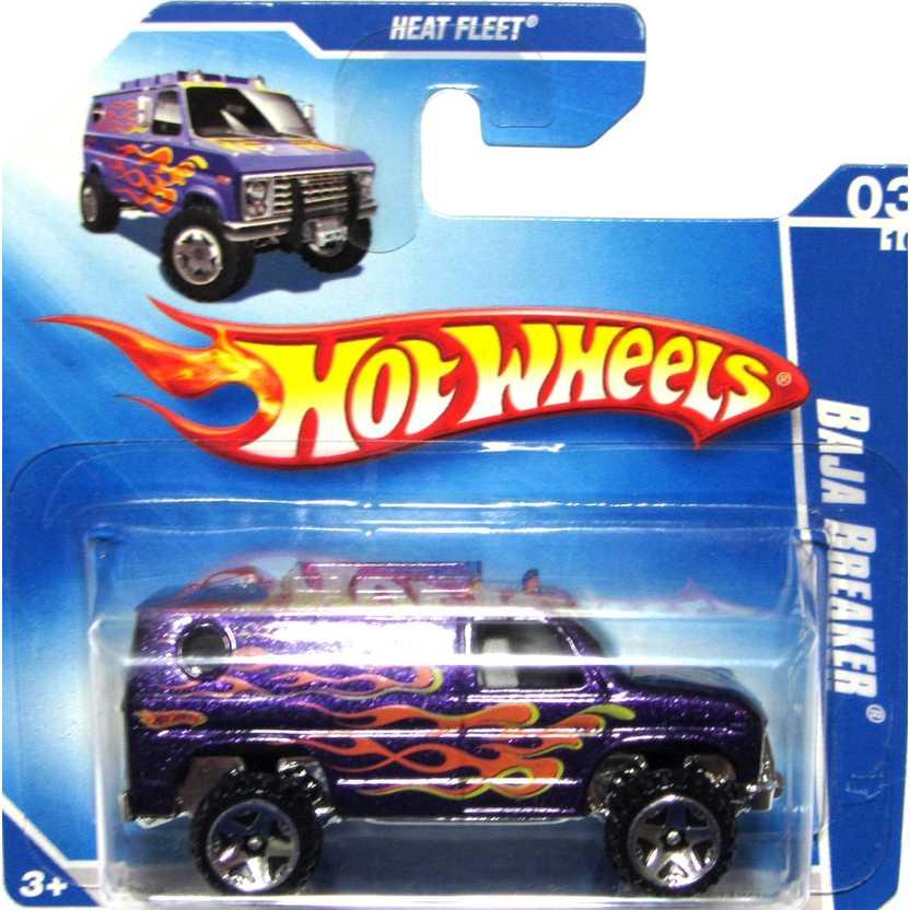 Coleção Hot Wheels 2009 Baja Breaker roxo P2439 series 03/10 119/166 escala 1/64