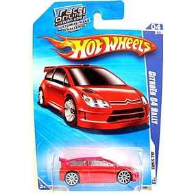 Coleção Hot Wheels 2010 Citroen C4 Rally R7547 Series 04/10