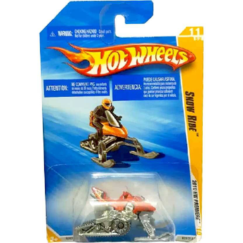 Coleção Hot Wheels 2010 Snow Ride series 11/52 011/214 R0926 escala 1/64