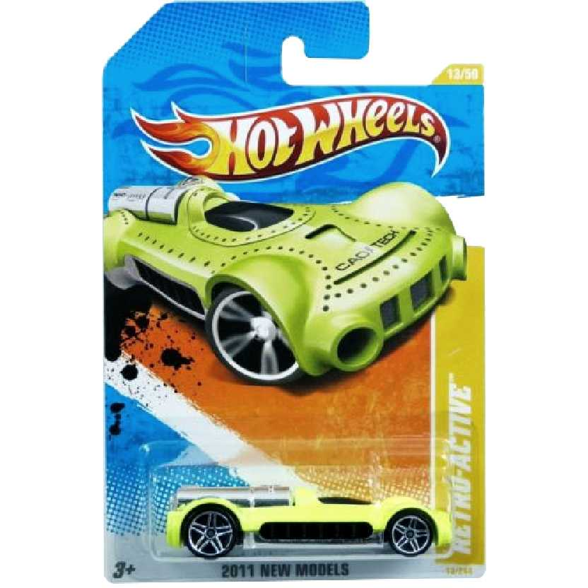 Coleção Hot Wheels 2011 Retro-Active series 13/50 13/244 T9683 escala 1/64