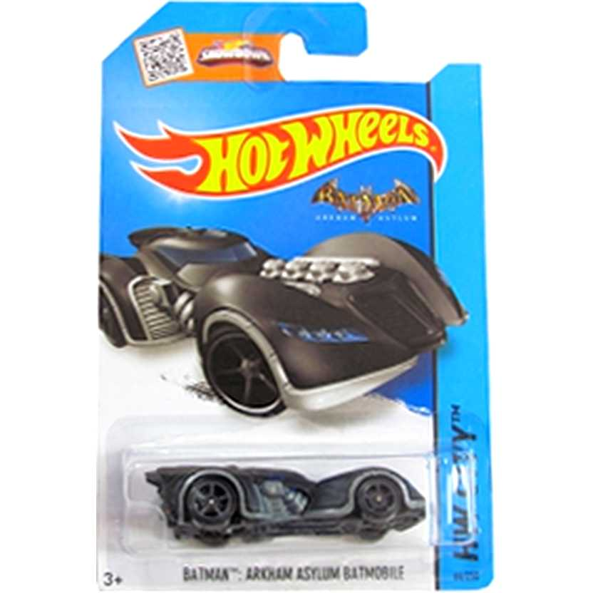 Coleção Hot Wheels 2015 Batman : Arkham Asylum Batmobile series 64/250 CFK22 escala 1/64