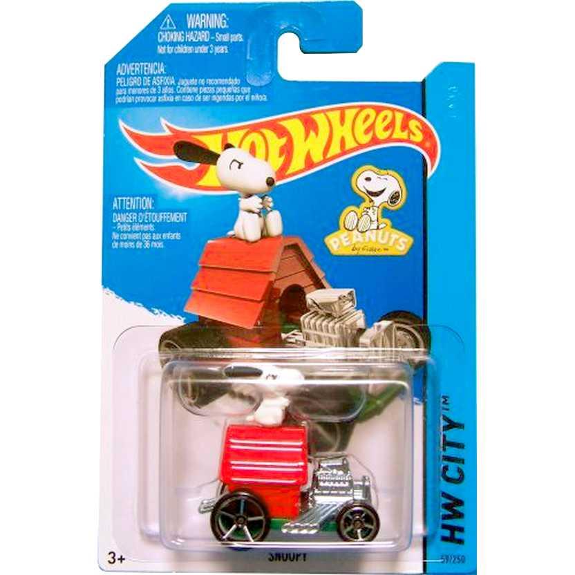 Coleção Hot Wheels 2015 Snoopy series 59/250 CFK19 escala 1/64