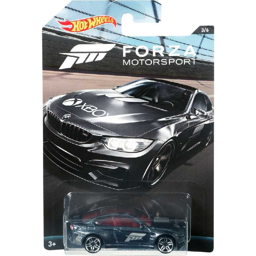 Coleção Hot Wheels Forza Motorsport BMW M4 series 3/6 DWF34 escala 1/64