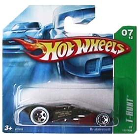 Coleção Hot Wheels linha 2007 Brutalistic T-Hunt Series 127 K7618
