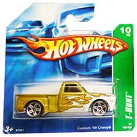 Coleção Hot Wheels linha 2007 Custom 69 Chevy T Hunt Series 130 K7621
