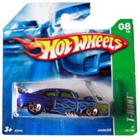 Coleção Hot Wheels linha 2007 Jades T-Hunt Series 128 (Raridade Hw) K7619