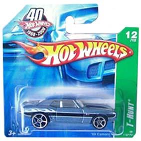 Coleção Hot Wheels linha 2008 69 Camaro T-Hunt Series 172 (HW Raro) M6978