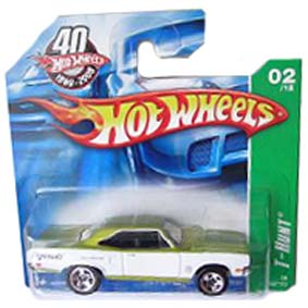 Coleção Hot Wheels linha 2008 70 Plymouth Road Runner T-Hunt Series 162 M6968